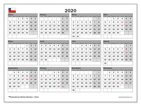 calendario chile matrimonio calendario