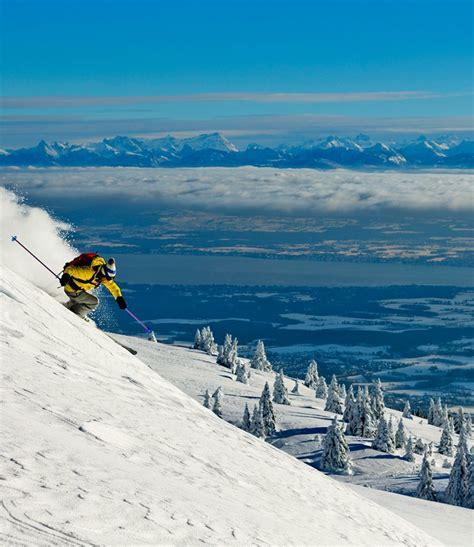 aire des monts de gueret hiver station monts jura monts jura station de ski