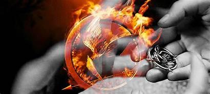 Mockingjay Gifs Hunger Games Katniss Fire Lawrence