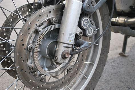 Anti-lock Braking System For Motorcycles