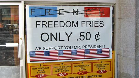 Nobody Knows Why We Still Call Them Freedom Fries
