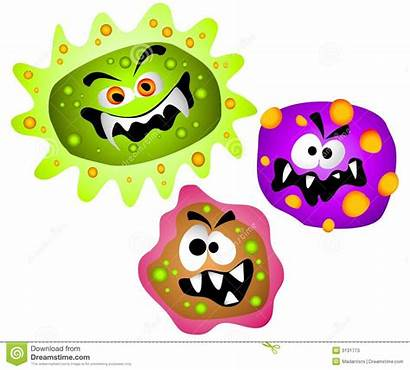 Germs Bacteria Clipart Viruses