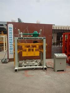 Machinery For Making Concrete Hollow Brick Paving Brick