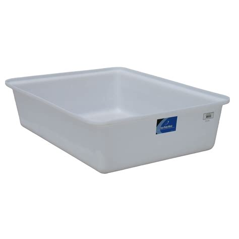 210 Gallon White Open Top Containment Tank Ace Op0210 Rt