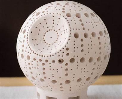 Star Death Lamp Clay Wars Handmade Lightgallery