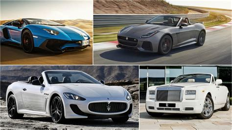most expensive the 11 most expensive convertibles in the world 2016
