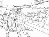 Coloring Football Michigan Dame Notre Wolverines Vols Tennessee Club State Getcolorings Printable Getdrawings Colorings sketch template