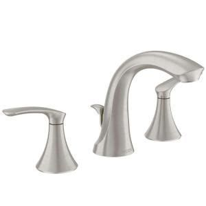 Moen Darcy Faucet 84550srn by Darcy 8 In Widespread 2 Handle Bathroom Faucet In Spot