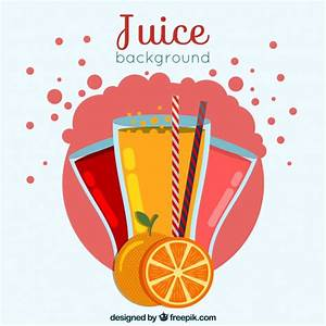 Fruit juice background Vector | Free Download