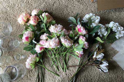 how to make an arrangement of flowers how to make a fake flower wedding bouquet angie away