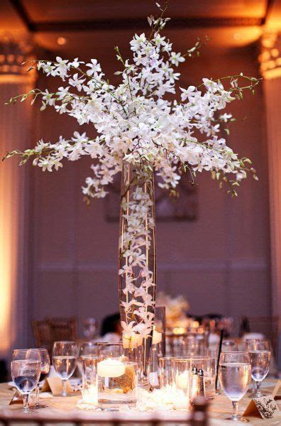 Dendrobium Orchid Centerpiece Photo Ben Pigao Flowers