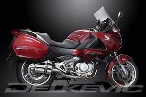 Honda Deauville 700 : 225mm ss70 stainless steel exhaust silencer honda nt700v ~ Kayakingforconservation.com Haus und Dekorationen