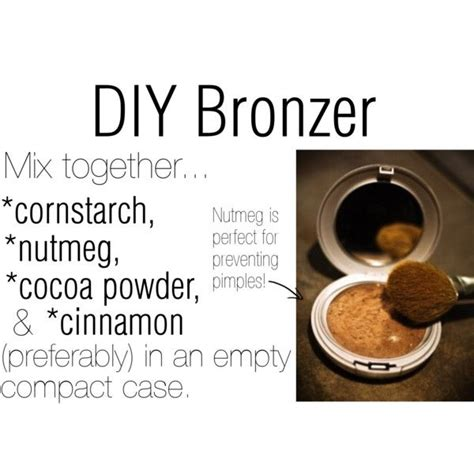 diy bronzer easy cheap great   skin natural