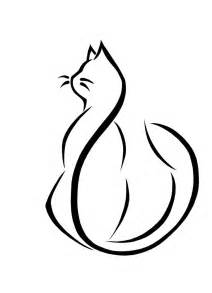 cat drawing easy cat tattoos designs ideas and meaning tattoos for you