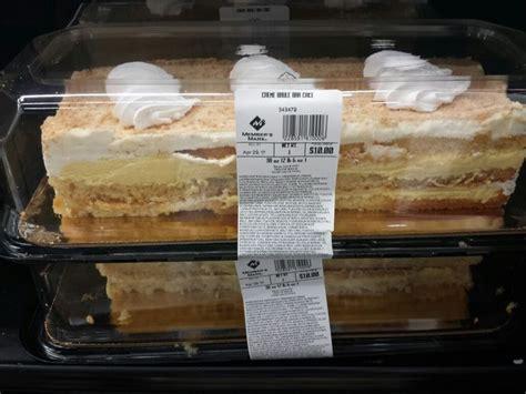 sams club creme brule bar cake cake desserts desserts cake