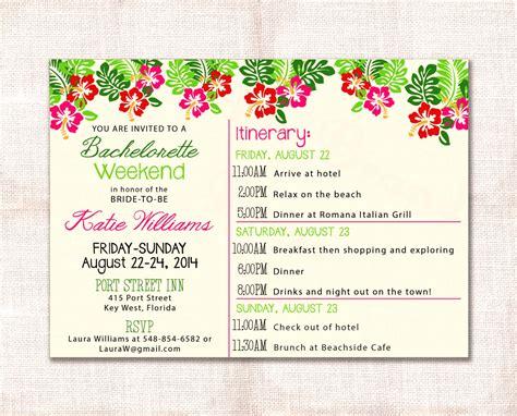bachelorette itinerary template free bachelorette itinerary template etsy weekend invitation and custom printable 5 215 7 mughals