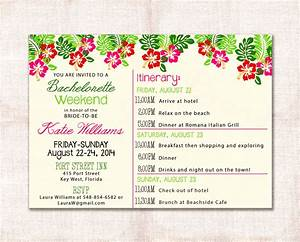 bachelorette itinerary template etsy party weekend With etsy templates