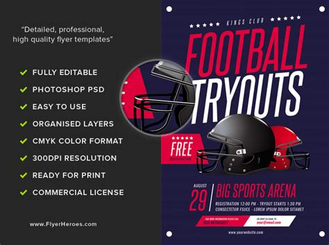 Football Tryouts Flyer Template  Flyerheroes. Good Project Manager Sample Resume. Dresses To Wear To Graduation Ceremonies. Reserved Table Sign Template. Graduation Gift Basket Ideas. Word Resume Template 2015. Unique Cover Letter Undergraduate. Graduate Schools In Texas. Cover Art Designer
