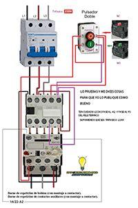 esquemas el 233 ctricos stop start maniobra contactor rele termico electricit 233 eletricista