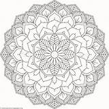 Mandala Flower Coloring Pages Getcoloringpages sketch template