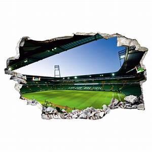 Werder Bremen Kissen : 3d wandtattoo svw weserstadion innen wall ~ Orissabook.com Haus und Dekorationen
