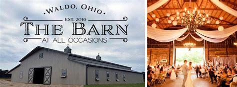 barn   occasions waldo  rustic wedding guide