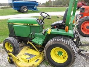 1989 John Deere 855 Tractors - Compact  1-40hp