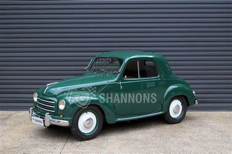 sold fiat  topolino coupe auctions lot  shannons