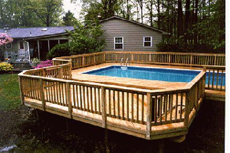 8x8 above ground pool deck plans outdoor deck plans for above ground pools proper placing
