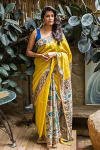 25  Best Ideas About Kalamkari Saree On Pinterest