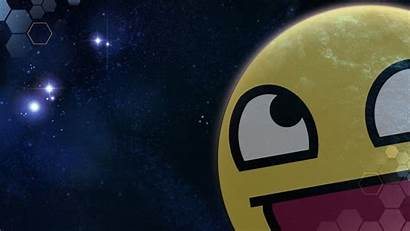 Face Awesome Meme Wallpapers Space Outer Digital