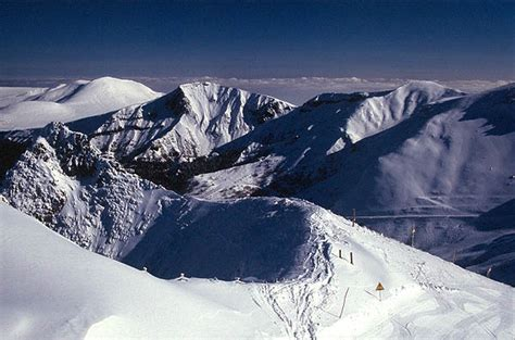 mountains ski le mont dore s extinct volcanoes provide a different skiing experience