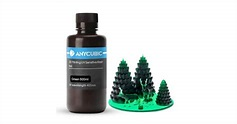 Anycubic 405nm Translucent Green UV Resin - 500ml: Buy or Lease at Top3DShop