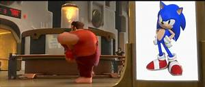 Image - Sonic in Wreck It Ralph.png - Sonic News Network ...