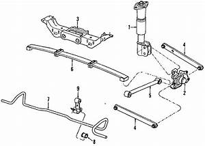 1993 Buick Regal Suspension Control Arm  Rear