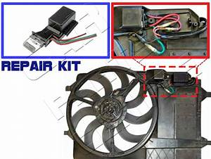 For Mini One Cooper S 1 6 R50 R53 Cooling Radiator Fan