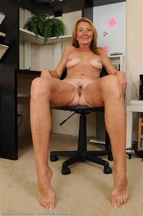 Mature Ladyboss Pam Get Naughty In The Office Milf Fox