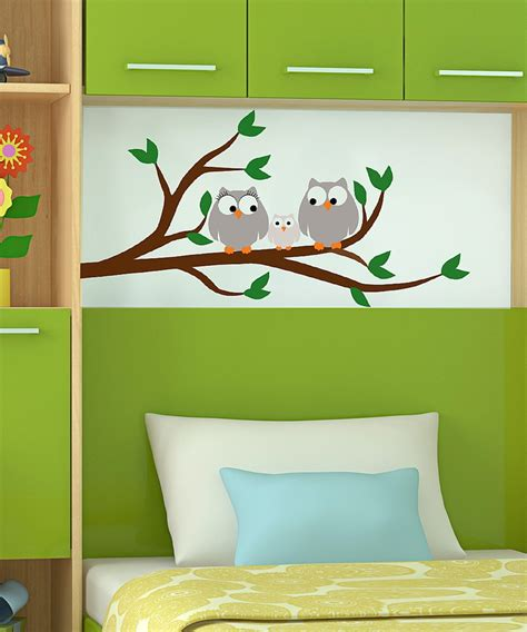 owl always you paint by number wall mural kit