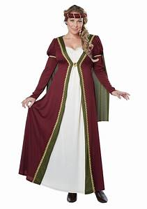 Plus Size Medieval Maiden Costume