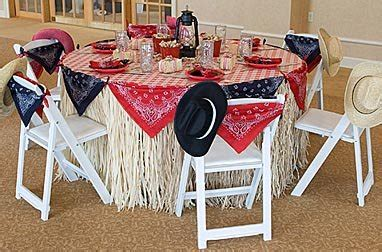 Western Wedding Ideas  Romantic Decoration