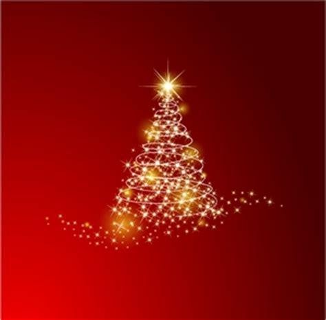 christmas tree background logo vector ai