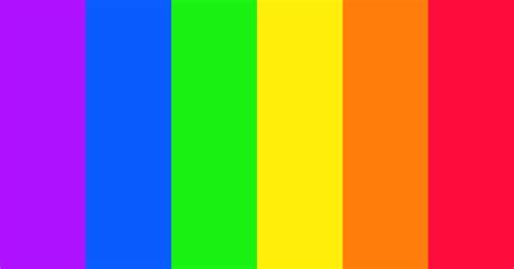 Vivid Spectrum Color Scheme » Blue » SchemeColor.com