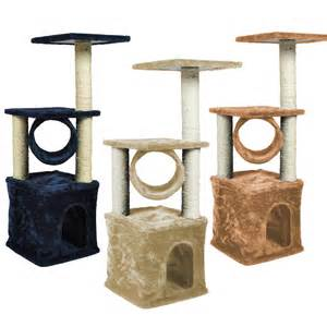 cat scratching furniture 3 color deluxe cat tree 36 quot condo furniture scratching