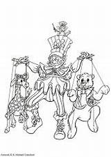 Coloring Pages Puppet Para Colorear Colouring Teatro Titeres Dibujo Theater Dibujos Nights Five Freddys Sheets Master Drama Puppets Clipart Theatre sketch template