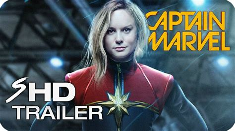 Marvel's Captain Marvel  (2019) Brie Larson Movie Trailer