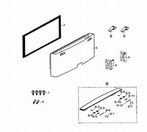 Samsung Rf260beaesr Freezer Door Gasket