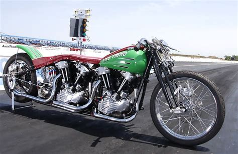 Twin Engine Knucklehead Dragster