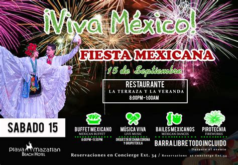 Mexico independence day     Hotel Playa Mazatlan