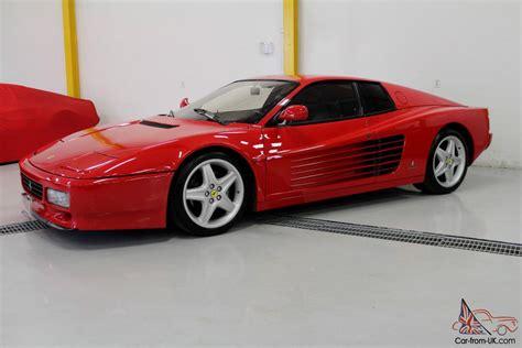 New & used ferrari 512 trs for sale. Ferrari : Testarossa 512 TR