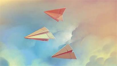 Paper Origami Airplanes Airplane Plane Wallpapers Backgrounds